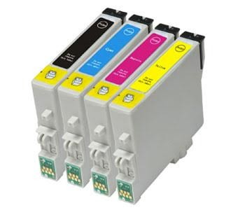 Compatible Multipack 4-Colour Epson T2631 - T2634 Printer Cartridge