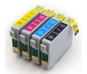 Compatible Multipack 4-Colour Epson T2711 - T2714 Printer Cartridge