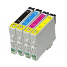 Compatible Multipack 4-Colour Epson T1281 - T1284 Printer Cartridge