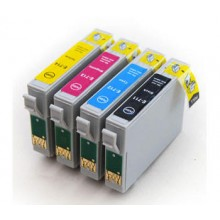 Compatible Multipack 4-Colour Epson T0711 - T0714 Printer Cartridge