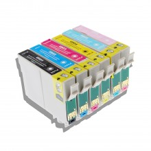 Compatible Multipack 6-Colour Epson T0801 - T0806 Printer Cartridge